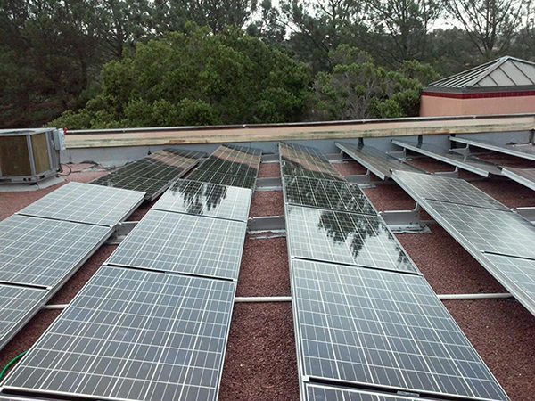 Commercial Solar Cleaning After