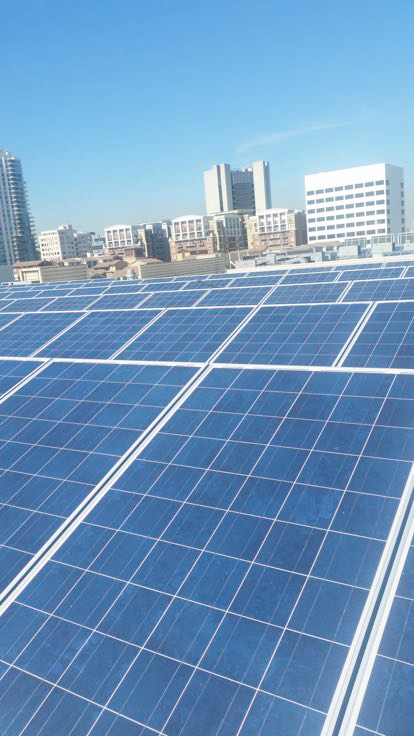 Commercial Solar Cleaning Long Beach